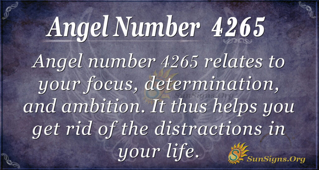 4265 angel number