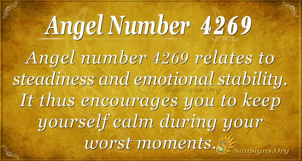 4269 angel number
