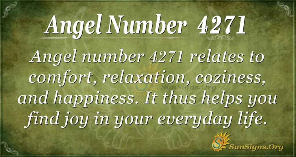 4271 angel number