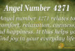 4271 angel number