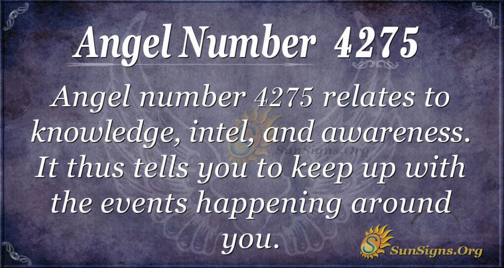 4275 angel number