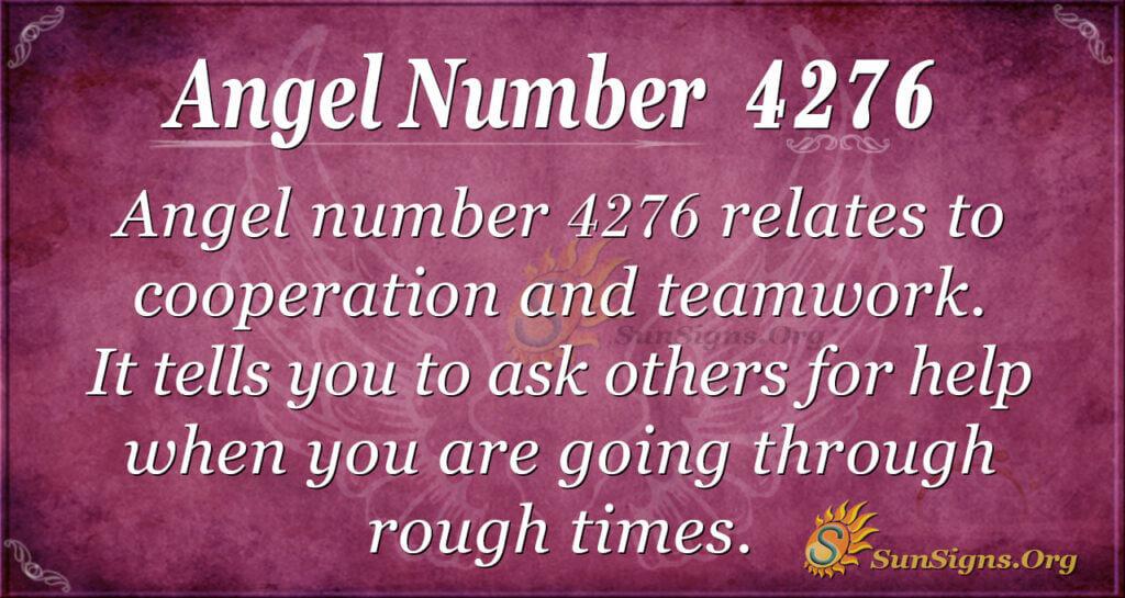 4276 angel number