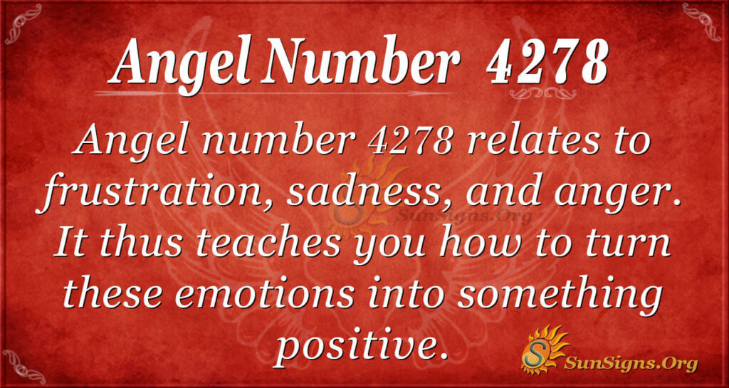 4278 angel number