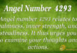 4293 angel number