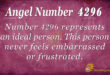4296 angel number