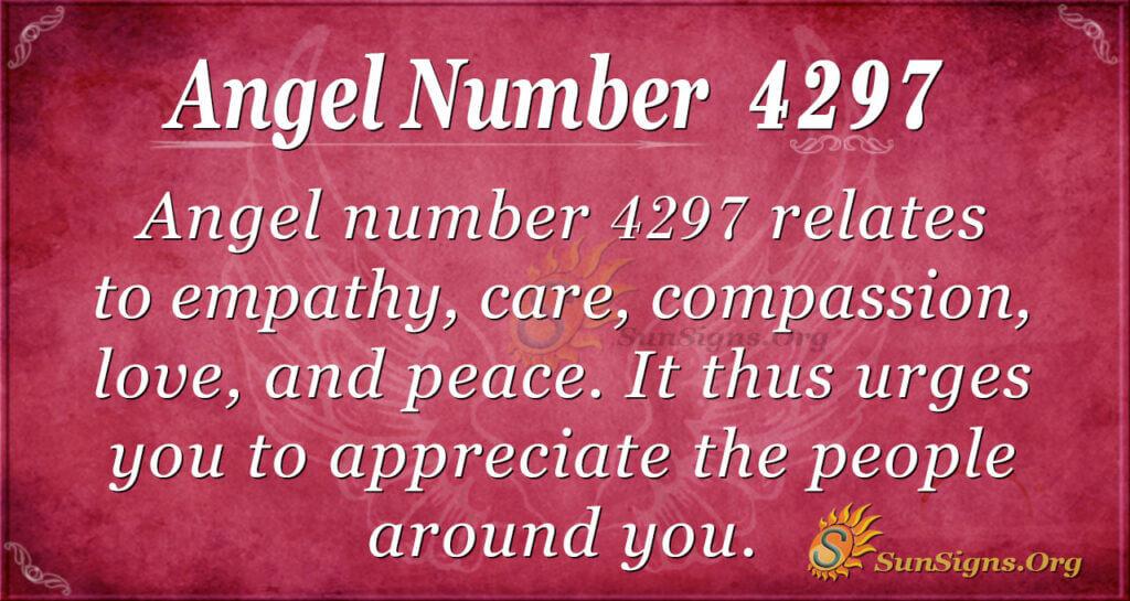 4297 angel number