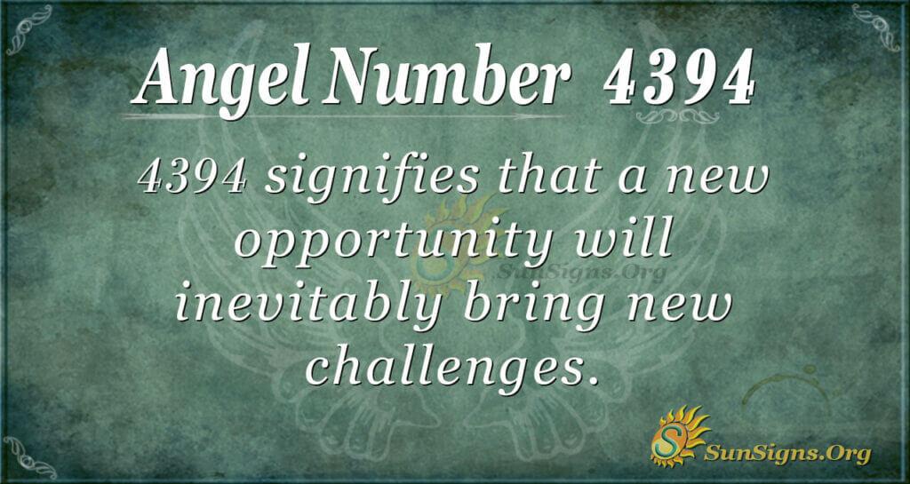 4394 angel number