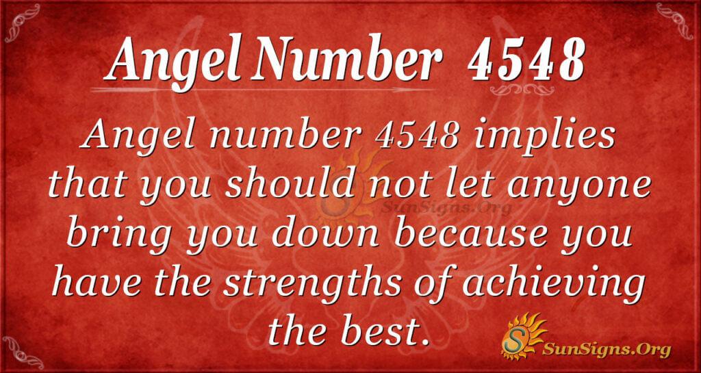 4548 angel number