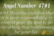 4701 angel number