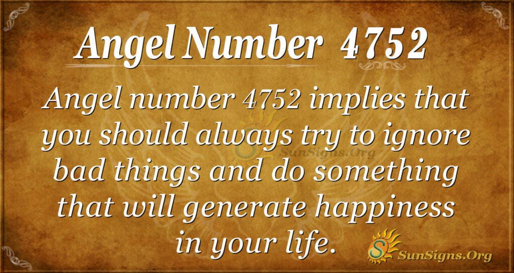 4752 angel number