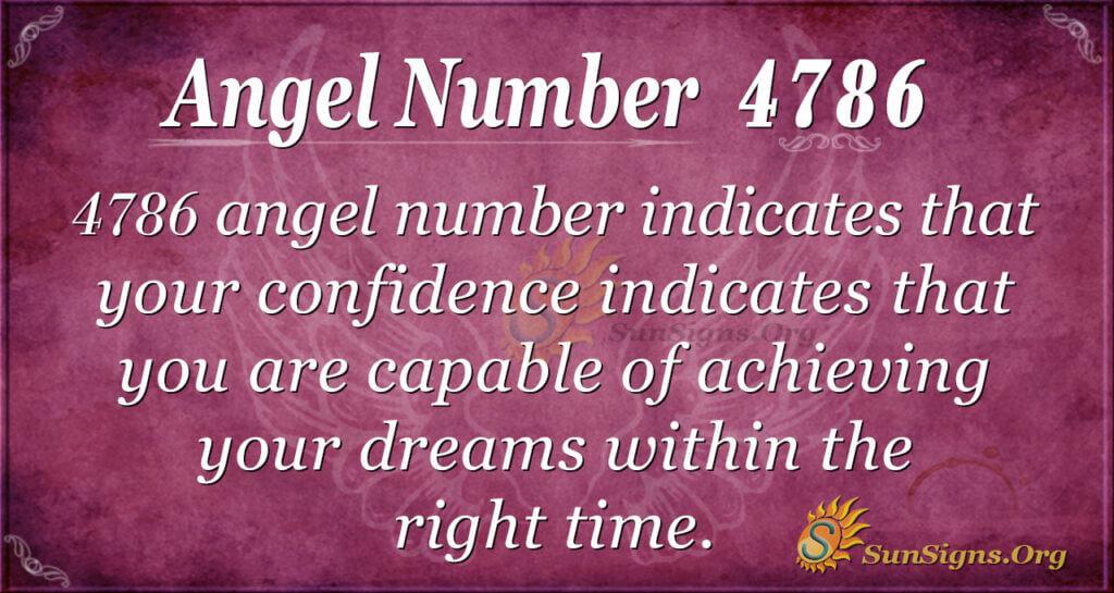 4786 angel number