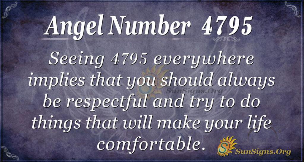 4795 angel number