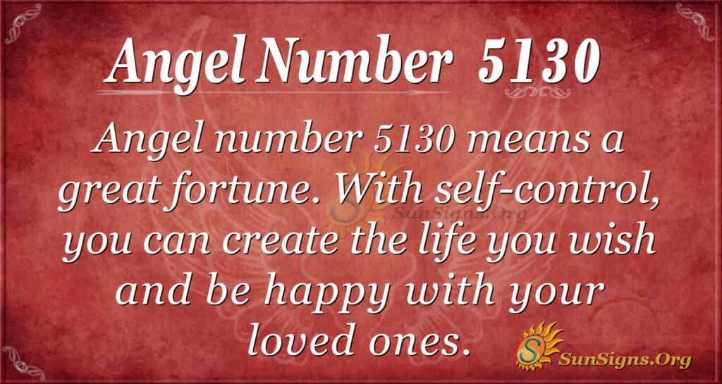 5130 angel number