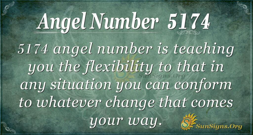 angel number 5174