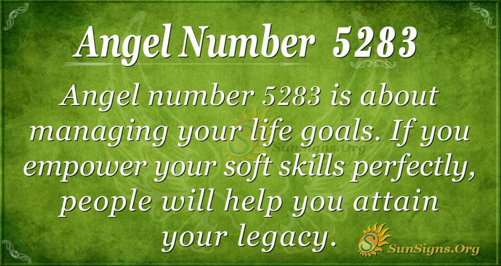 5283 angel number