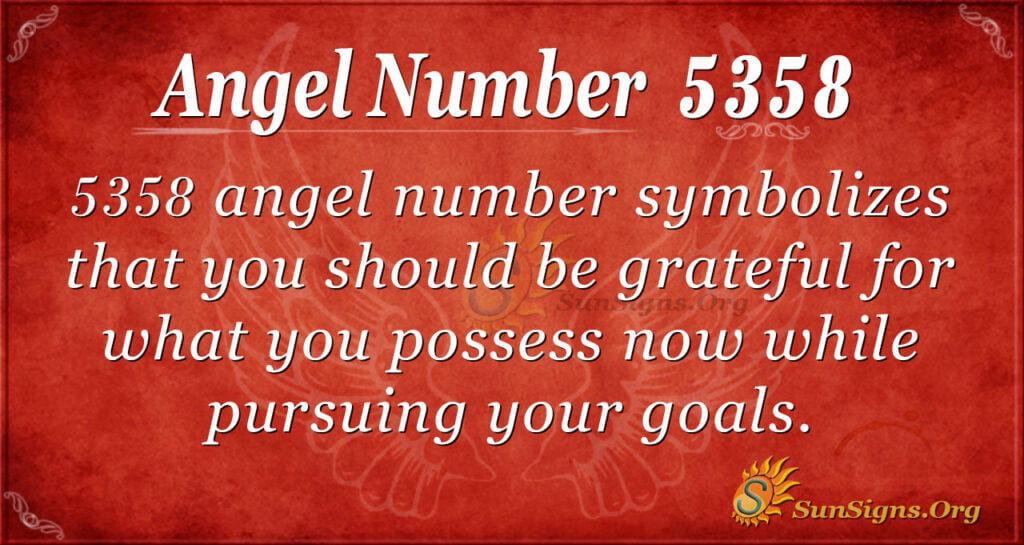 5358 angel number