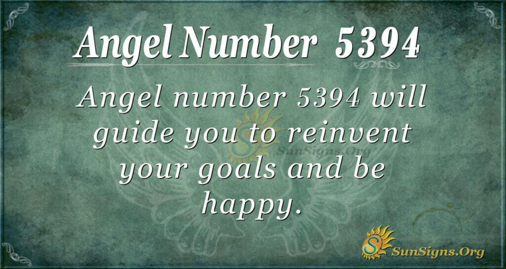 5394 angel number