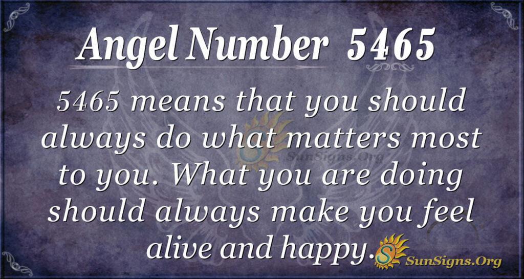5465 angel number