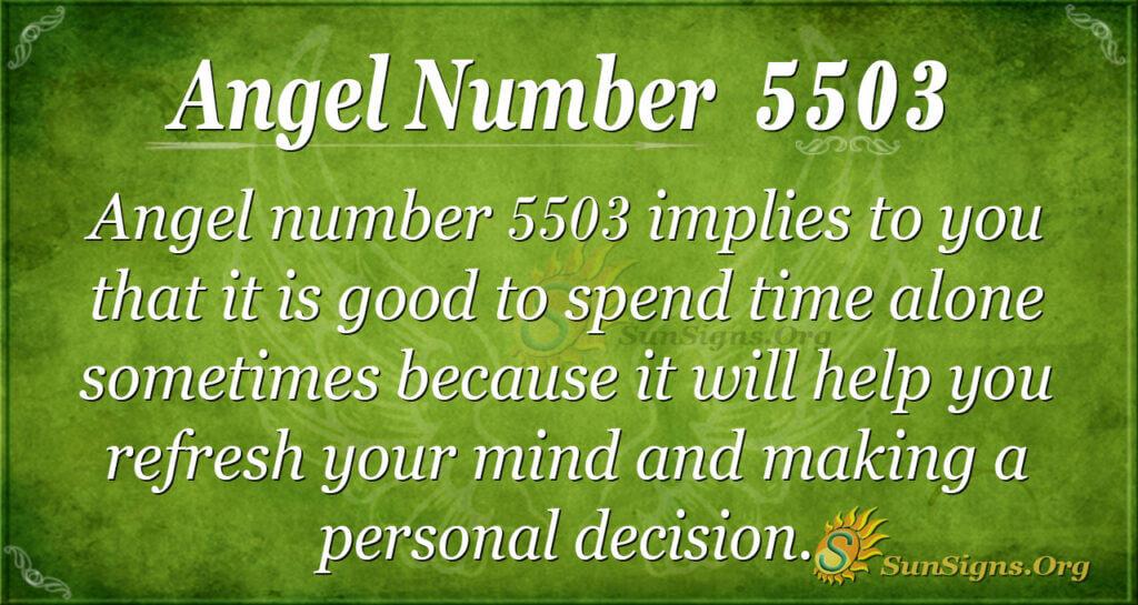 5503 angel number
