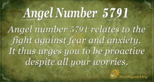 5791 angel number