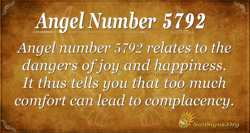5792 angel number