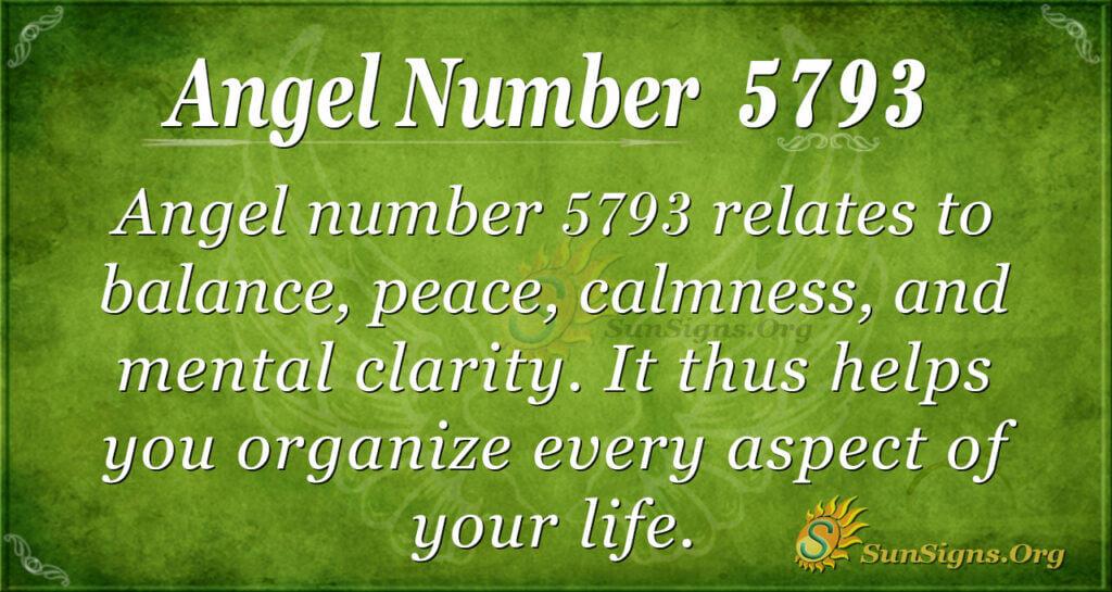 5793 angel number