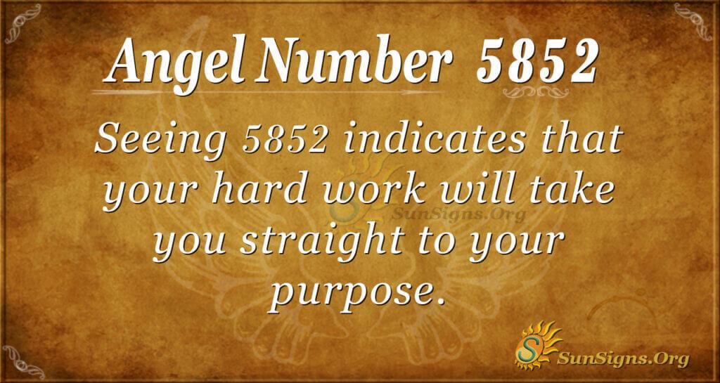 5852 angel number