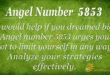 5853 angel number