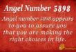 5898 angel number