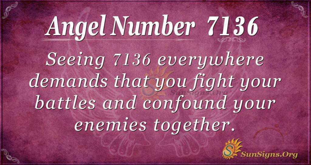 7136 angel number