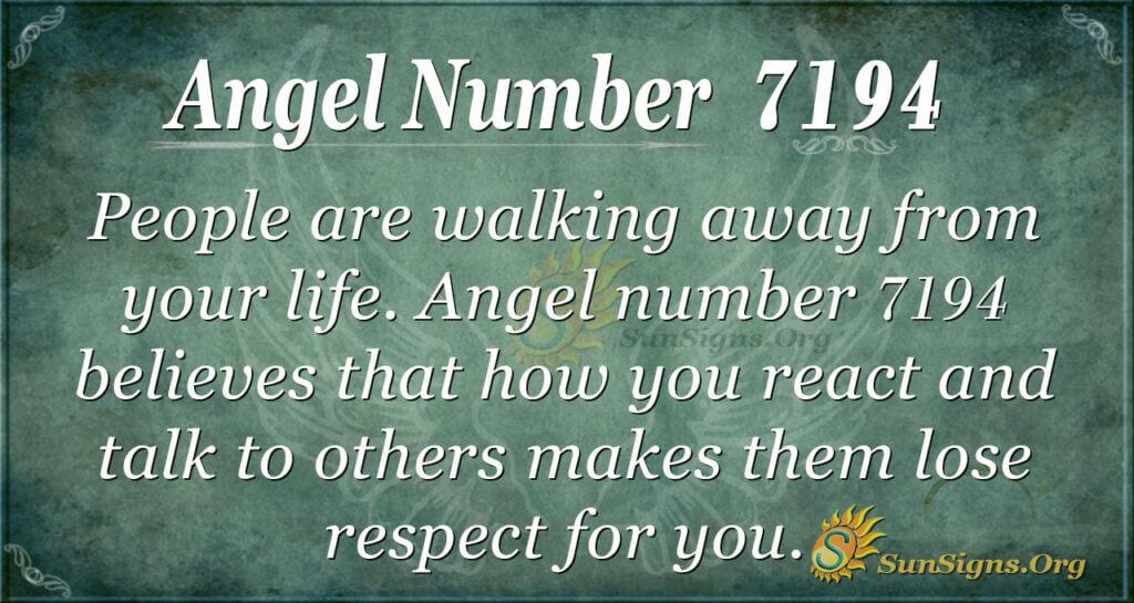 7194 angel number