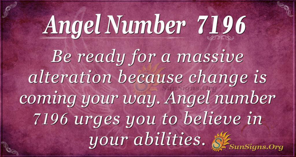 7196 angel number