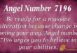 7196 angel number