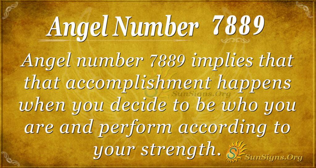 7889 angel number