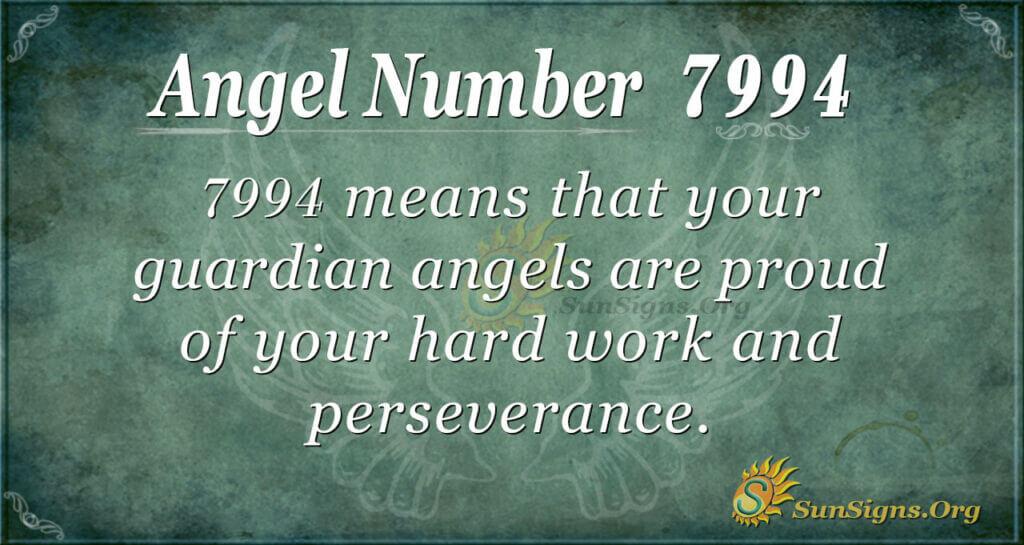 7994 angel number