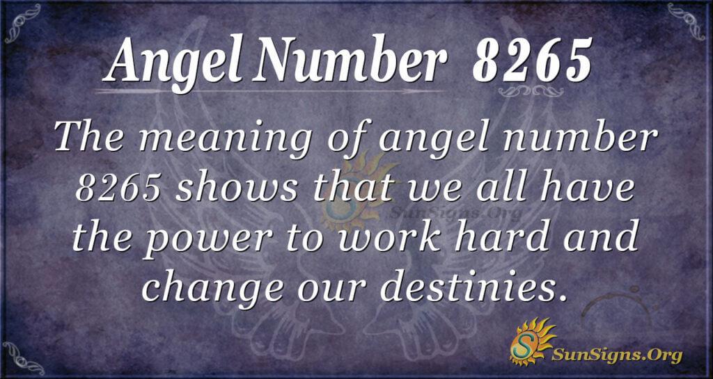 8265 angel number