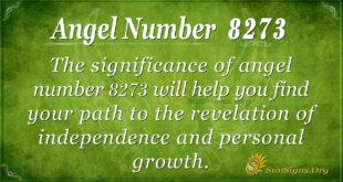 8273 angel number