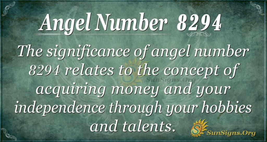 8294 angel number