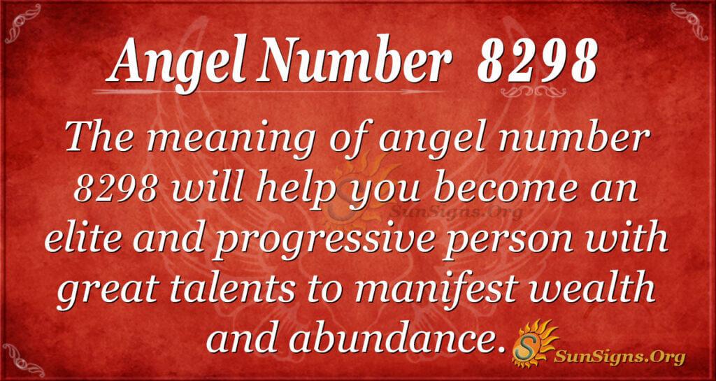 8298 angel number