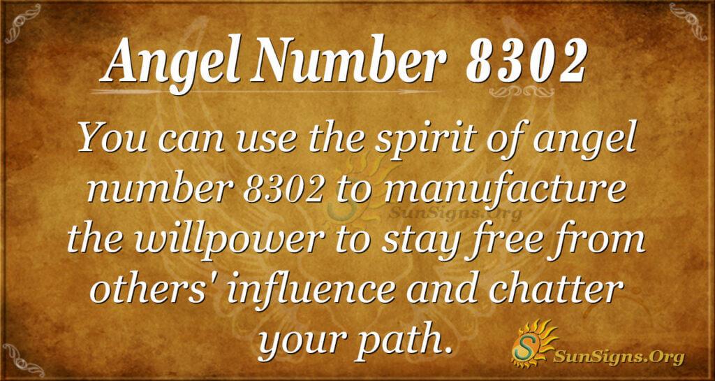 8302 angel number