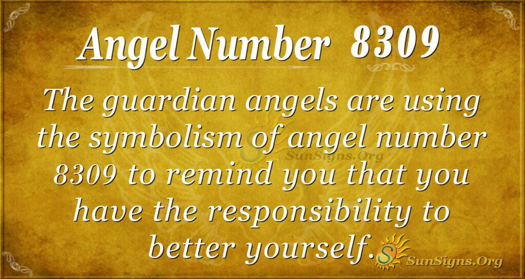 8309 angel number