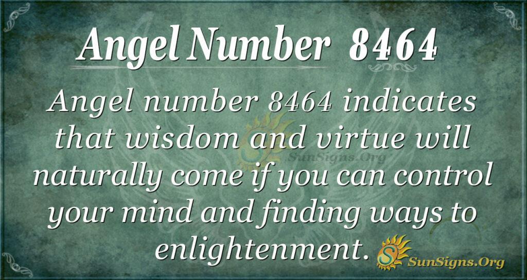 8464 angel number