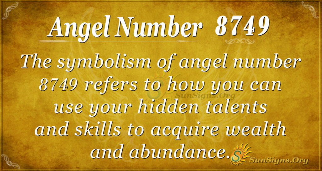 8749 angel number