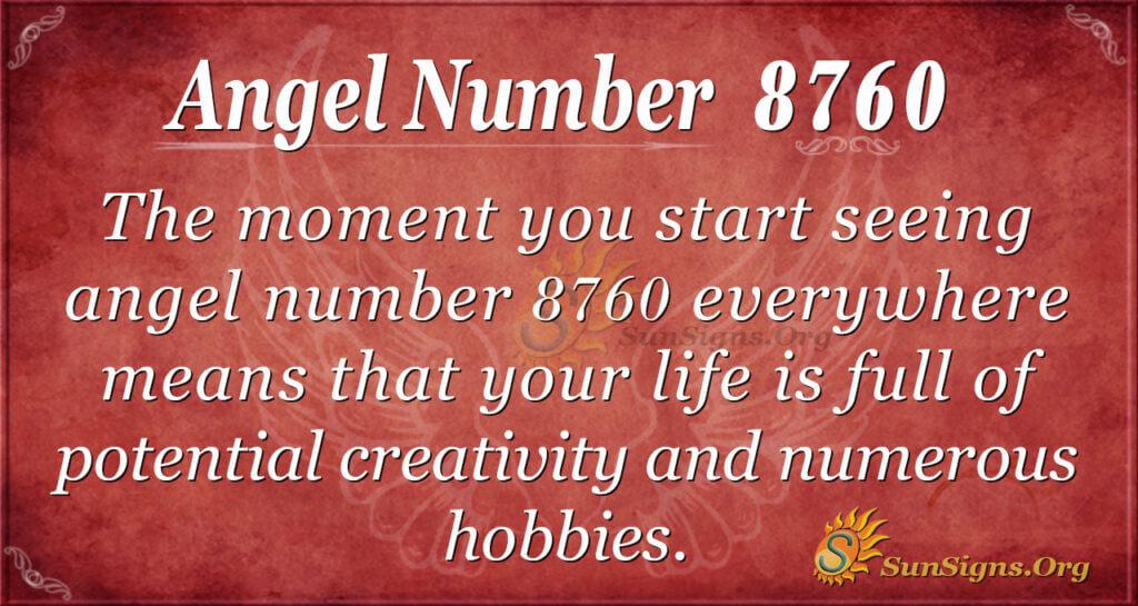 8760 angel number