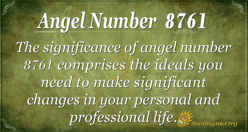 8761 angel number