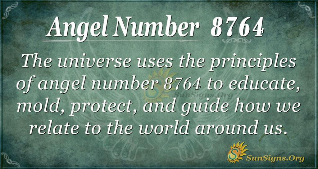 8764 angel number