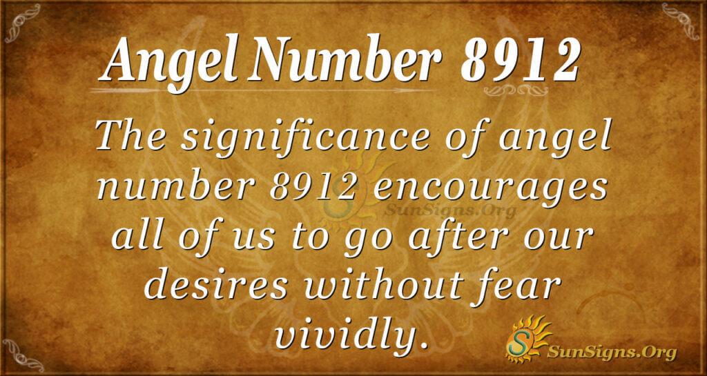 8912 angel number