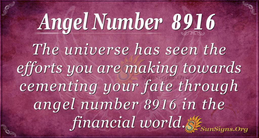 8916 angel number