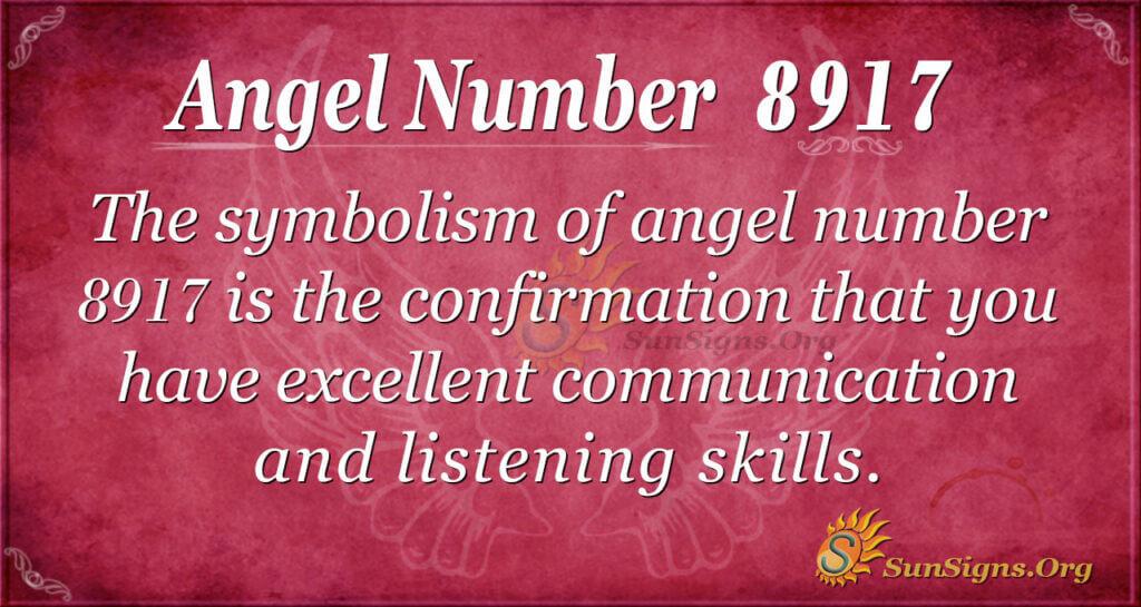 8917 angel number