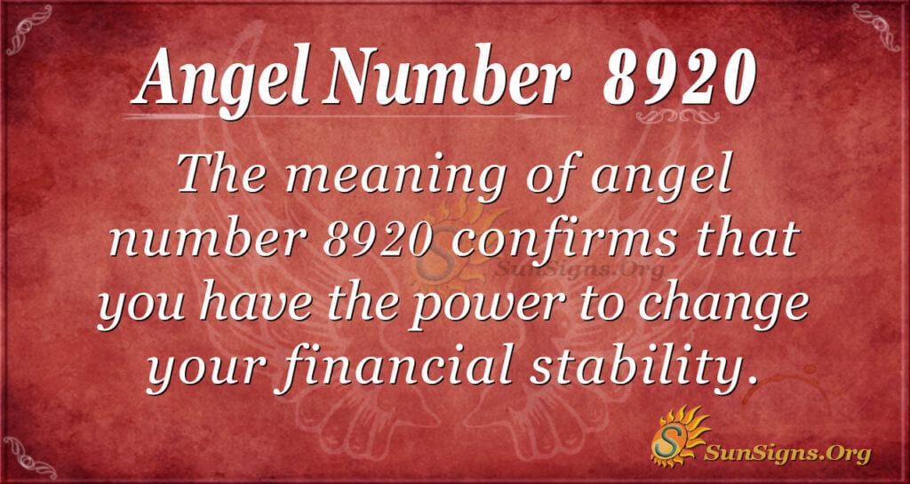 8920 angel number
